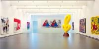 Installation view opening exhibition <i>einfach sehen</i>