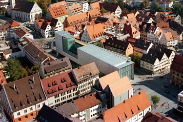 Ulms Neue Mitte – die kunsthalle weishaupt