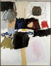 Robert Rauschenberg, Summer Rental, 1960, Öl und Papier auf Leinwand, 178 x 137 cm
