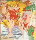 Willem De Kooning, Woman in the Water, 1972, Öl auf Leinwand, 151 x 137 cm