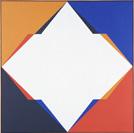 Verena Loewensberg, ohne Titel, 1967, Öl auf Leinwand, 101 x 101 cm