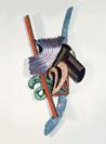 Frank Stella, The Crotch, 1988, Mischtechnik auf Aluminium, 521 x 250 x 123 cm
