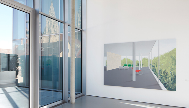 Installation view with artwork by Ben Willikens in <i>Open Outcome - New Works from the Collection </i>