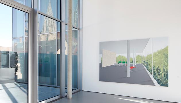 Ausstellungsansicht Ben Willikens in <i>Ausgang offen - Neues aus der Sammlung</i>